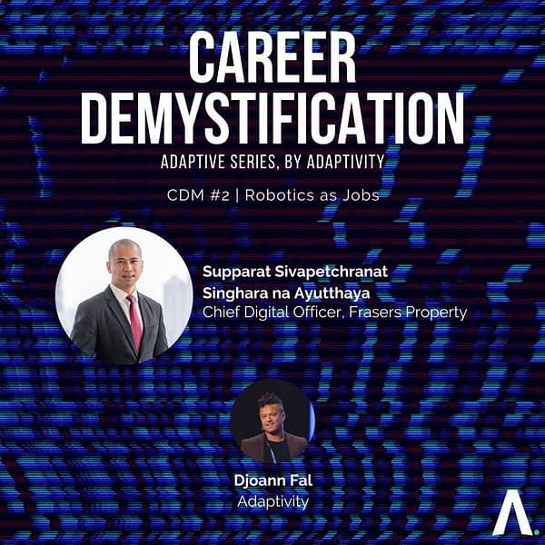 Career demystification PropertyTech & Robotics Frasers